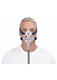 resmed mirage quattro fx mfg mask front