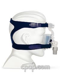 resmed softgel nasal cpap mask side