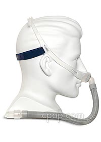 resmed swift fx nasal pillow cpap mask side
