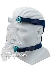 resmed ultra mirage full face cpap mask angle