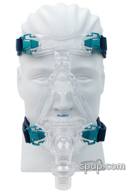 resmed ultra mirage full face cpap mask front5