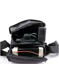 Respironics Battery Pack - Shown in Open Carry Pouch