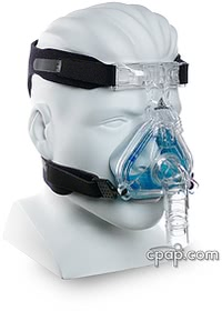 respironics comfort Gel mask profile
