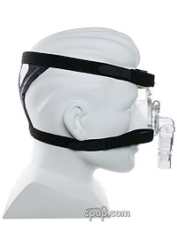 respironics comfort classic mask side