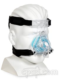respironics comfortgel blue nasal cpap mask profile hero