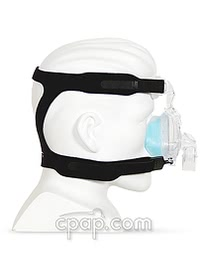 respironics comfortgel blue nasal cpap mask side