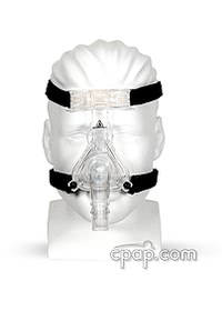 respironics comfortselect nasal cpap mask front