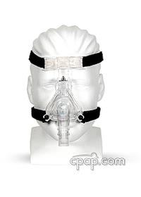 respironics comfortselect nasal cpap mask front