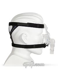 respironics comfortselect nasal cpap mask side
