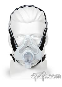 FullLife Full Face CPAP Mask with Headgear - Fit Pack