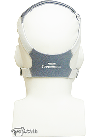 Respironics EasyLife CPAP Mask with New Headgear for EasyLife CPAP Mask on Mannequin (not included)