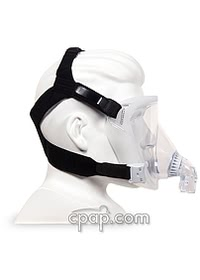 respironics performax total face side