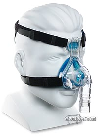 Profile Lite Nasal Mask Angle (Shown on Mannequin)