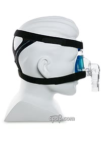 Profile Lite Nasal Mask Side (Shown on Mannequin)