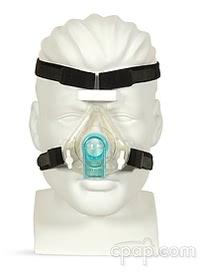 respironics reusable contour nasal cpap mask front