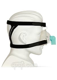 respironics reusable contour nasal cpap mask side