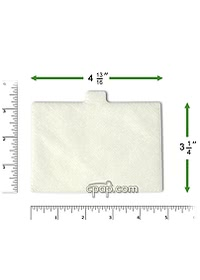 respironics synchrony filter top rulers