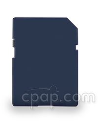 SD Memory Card - Generic Blue