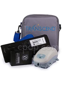 Solar Panel for Transcend - Shown withTranscend and Carry bag with Battery