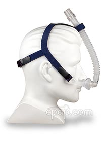 Stealth Nasal Pillow CPAP Mask - Side on Mannequin