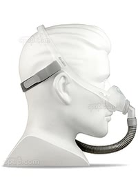 Swift FX Nano Nasal CPAP Mask - Side - Shown on Mannequin (Not Included)