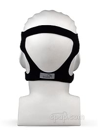 Sylent Nasal CPAP Mask with Headgear - Back on Mannequin