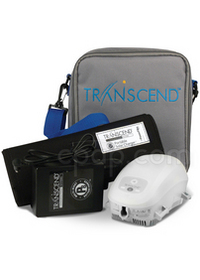 Transcend II Travel CPAP Machine with Multi-Night Battery and Solar Panel Charger