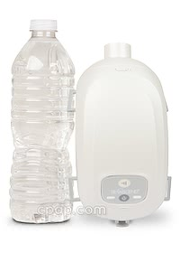 Transcend II - Size Comparison to Water Bottle (not included)