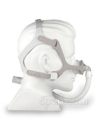 Wisp Nasal CPAP Mask with Headgear - Side (On Mannequin- not included)