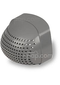 Plastic Filter End Cap for Z1 Travel CPAP Machine - Back View