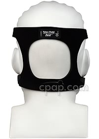 Zest Q Nasal CPAP Mask Headgear (Back- shown on mannequin)