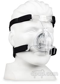 Zest Q Nasal CPAP Mask Headgear (Front angle- shown on mannequin)